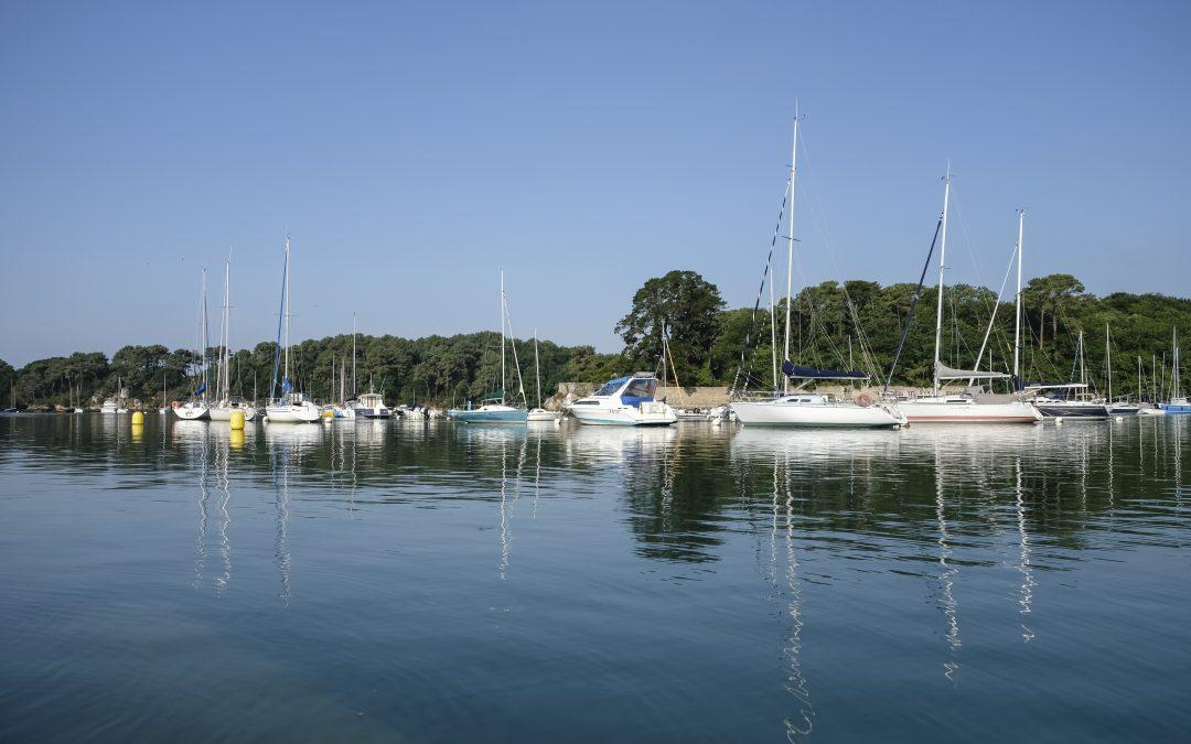 Journée sur le Golfe du Morbihan (France)