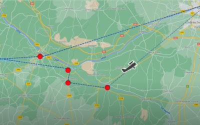 Pépites angevines… les chateaux de la Loire vu du ciel